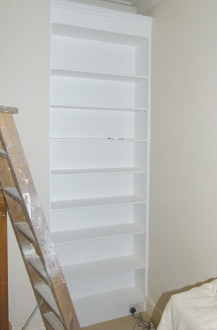 Canonbury-N1 Fitted bookcases